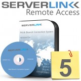 ServerLink 05 Users License without Annual Subscription