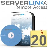 ServerLink 20 Users License without Annual Subscription