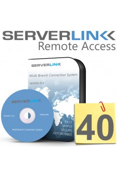 ServerLink 40 Users License without Annual Subscription