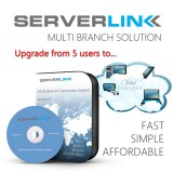 ServerLink Upgrade from 5 to 30 users without Annual Subscription