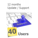 ServerLink Annual Service Update for 40 Users