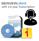 ServerLink 01 User with 1st Year Annual Subscription