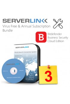 ServerLink 03 User with Annual Subscription & Bitdefender