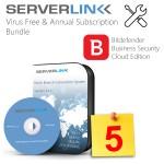 ServerLink 05 User with Annual Subscription & Bitdefender