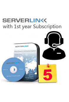 ServerLink 05 User with 1st Year Annual Subscription
