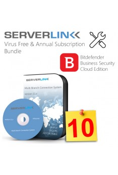ServerLink 10 User with Annual Subscription & Bitdefender