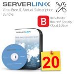 ServerLink 20 User with Annual Subscription & Bitdefende2
