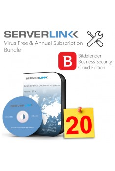 ServerLink 20 User with Annual Subscription & Bitdefende2